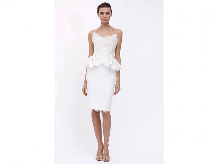 Wedding dress by Marchesa