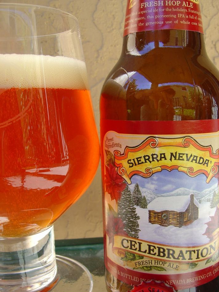 Celebration ale by Sierra Nevada- perfect for your winter wedding reception