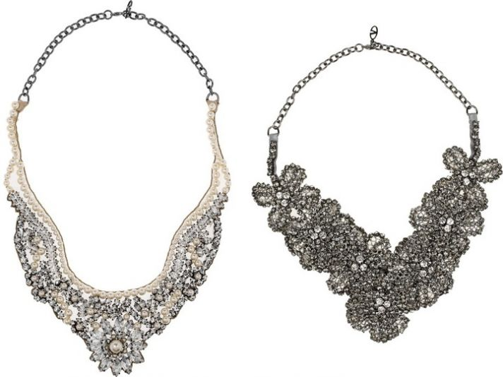 Bridal necklaces by Valentino