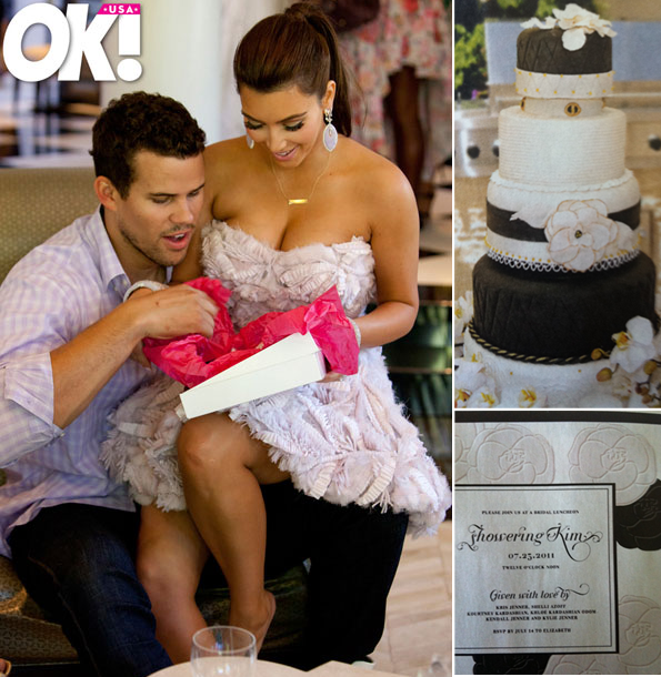 Inside look at Kim Kardashian 39s bridal shower