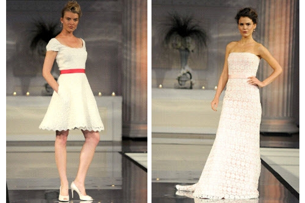 Wedding dresses for Kentucky Derbythemed weddings