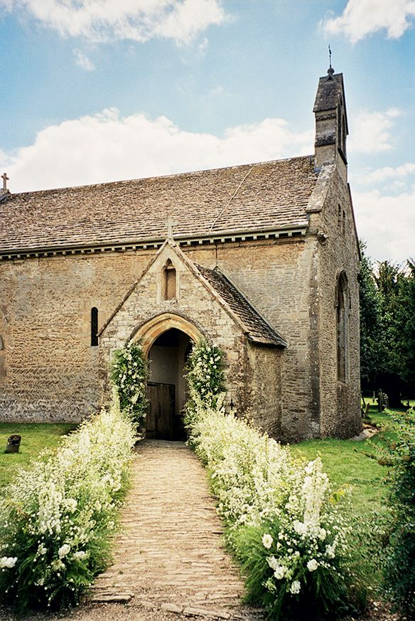 Traditional wedding ceremony church for Kate Moss' wedding
