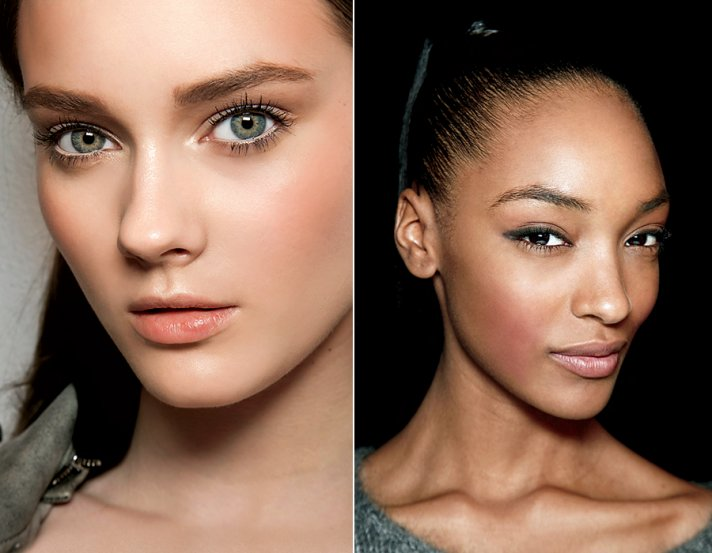 Bridal makeup trends for 2011- statement blush with nude lips
