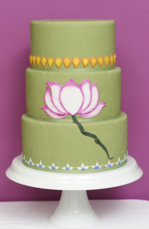 Cultural wedding cake