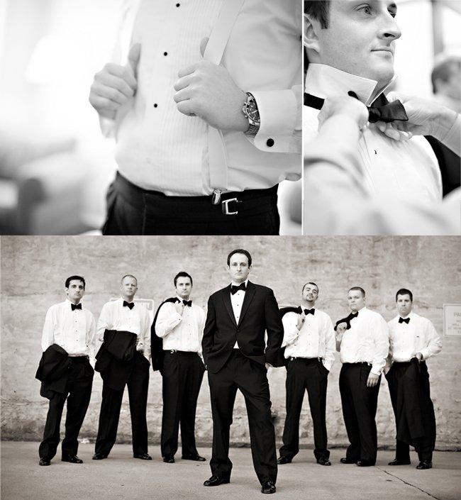 Formal groom's attire