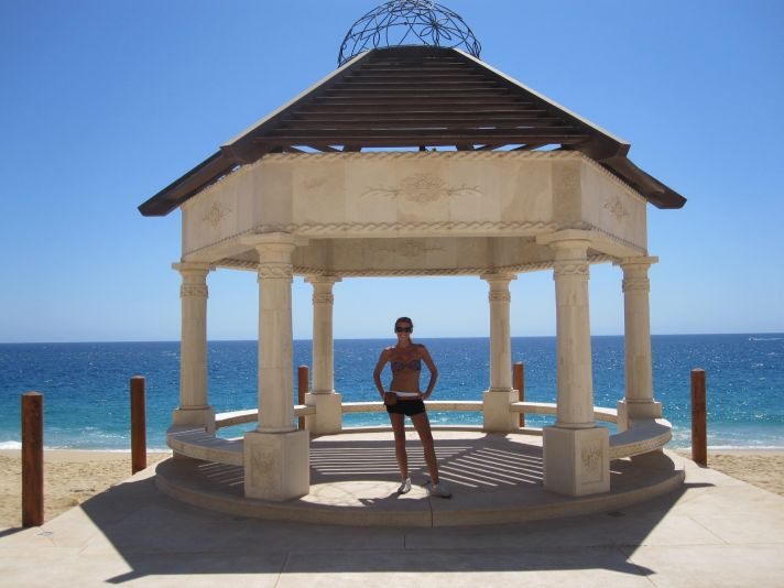 Wedding ceremony gazebo in Cabo San Lucas