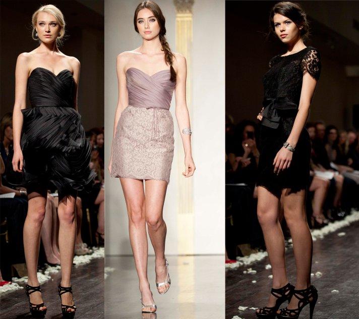 Chic 2012 bridesmaids dresses by Lazaro