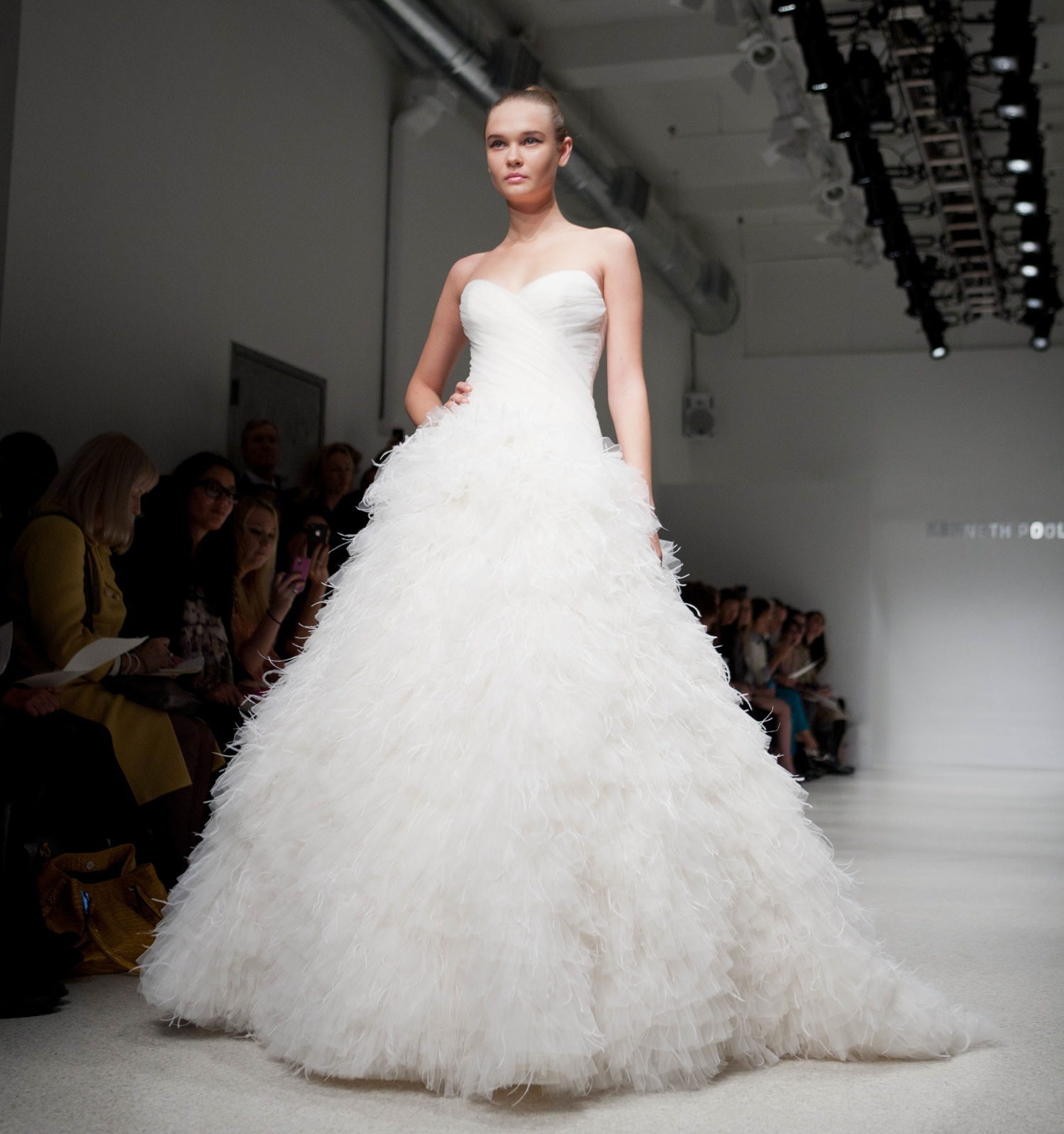 Wedding dresses bridal gowns is available and cheap price for Feather wedding dress davids bridal