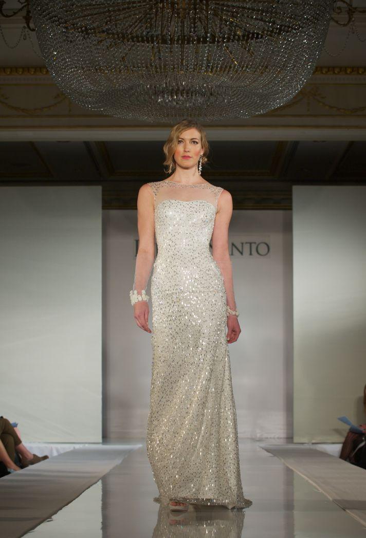 2012 wedding dress trends- transparent illusion necklines