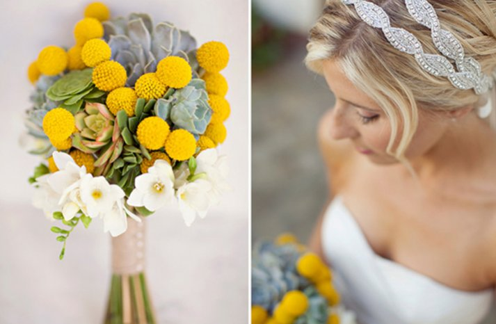 White-yellow-bridal-bouquet-succulents