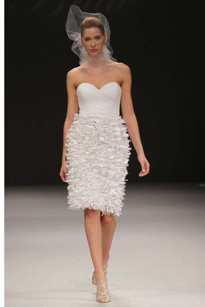 Badgley Mischka wedding dresses, Spring 2012 bridal gown- sweetheart necklines