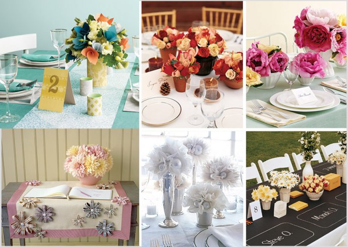 Cheap Wedding Centerpiece Ideas 12 Lovely Paper wedding flowers affordable