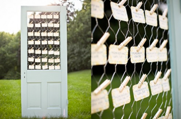 Vintage wedding decor ideas ceremony and reception details escort cards