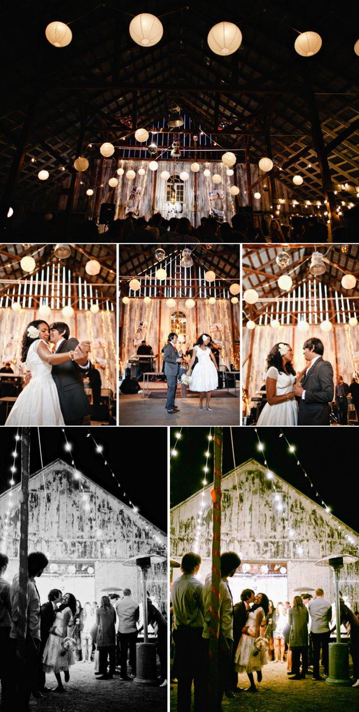 Real California weddings- vintage bride, barn wedding venue by Matthew Morgan Photography- 9