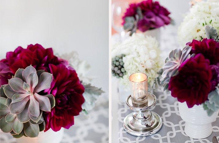 Winter-wedding-flowers-red-purple-suculents