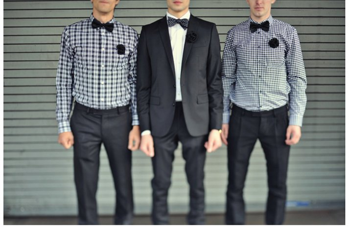 Casual-grooms-attire-navy-blue