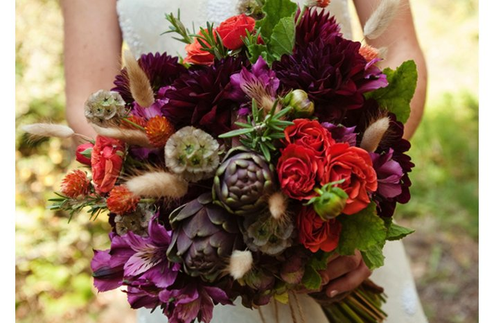 Fall-wedding-bouquet-colorful