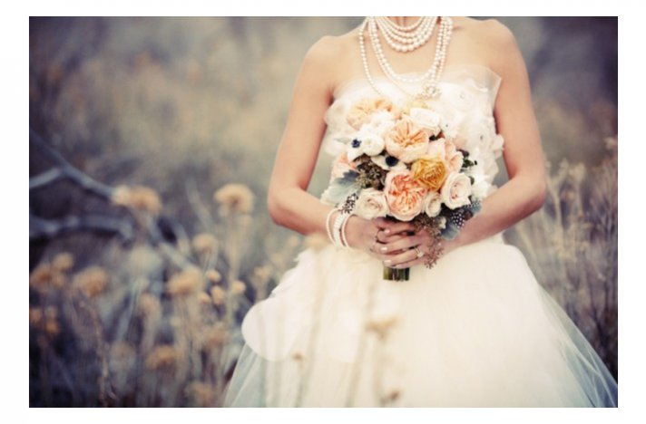 Favorite fall bridal bouquets suggested by Oh Lovely Day- rustic romance