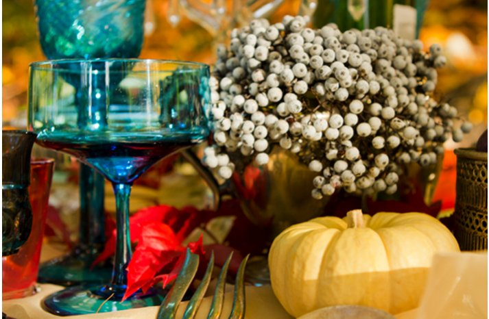 dark romance winter wedding ideas reception table