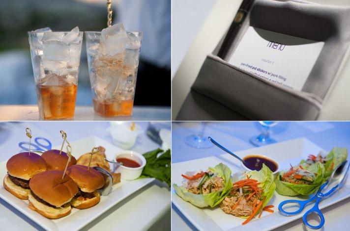 Las Vegas wedding reception menu, catering