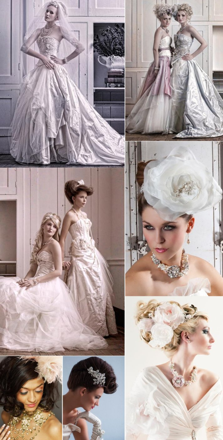 vintage inspired couture wedding dresses bridal accessories terry fox