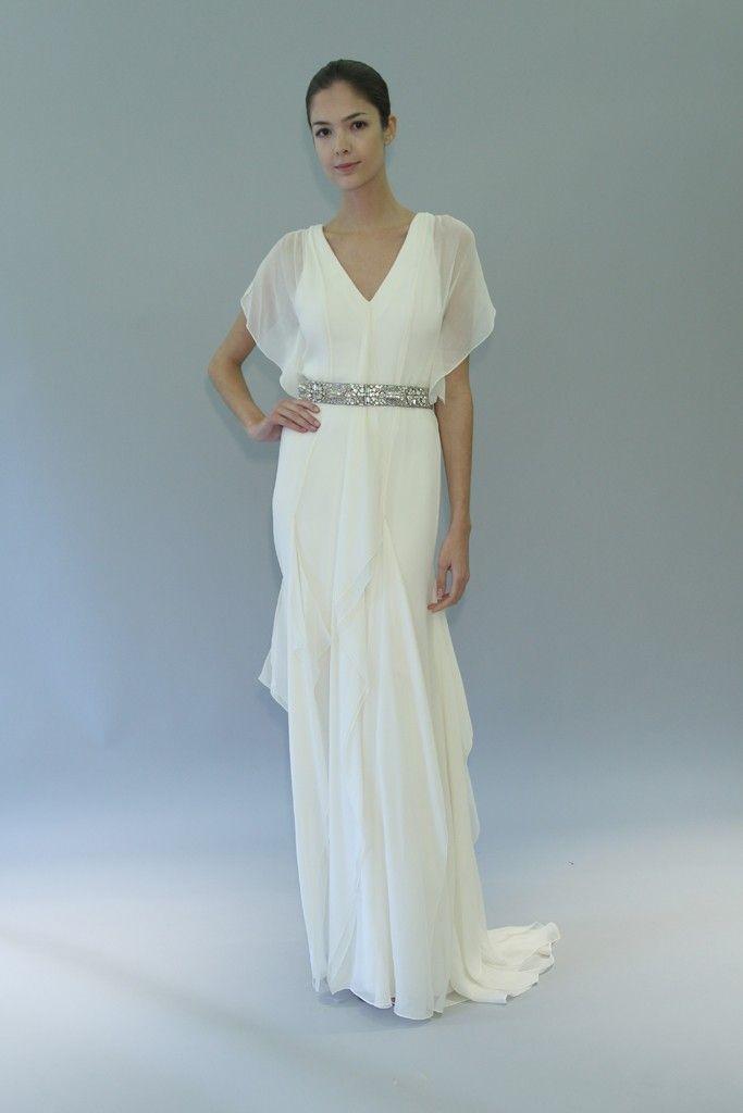 carolina herrera wedding dress fall 2012 bridal gowns 4 Credit WWD