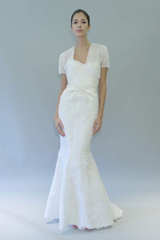 carolina herrera wedding dress fall 2012 bridal gowns 11
