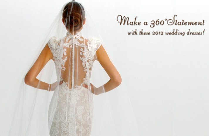 statement back wedding dresses 2012 marchesa lace