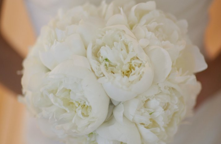 au elegant rustic real wedding peony bridal bouquet