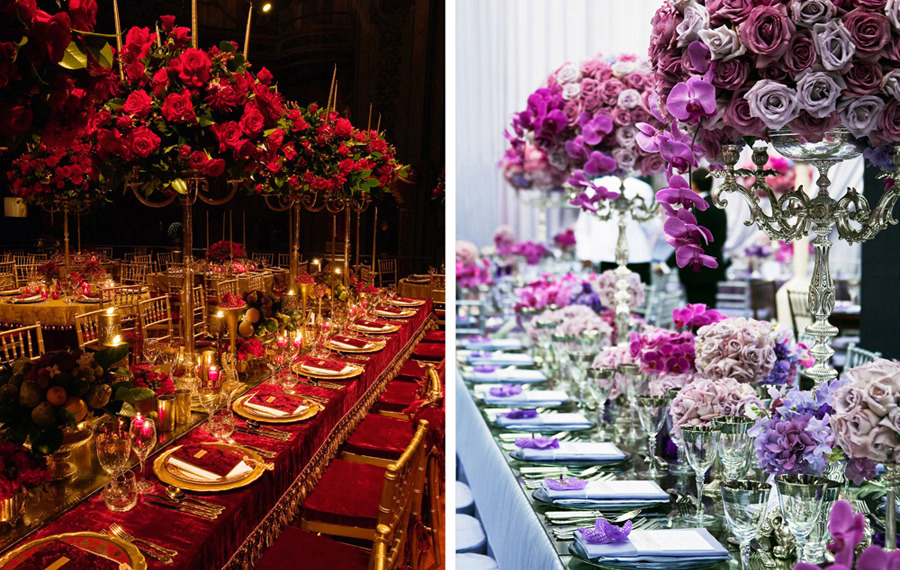 Coyeas Blog Using The Rose Petals In This Wedding Centerpiece Is