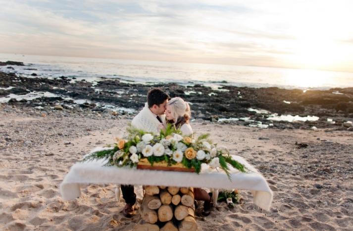 winter wedding california elopement 31