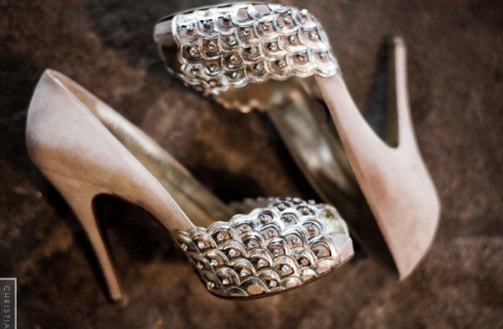 studded platform wedding shoes