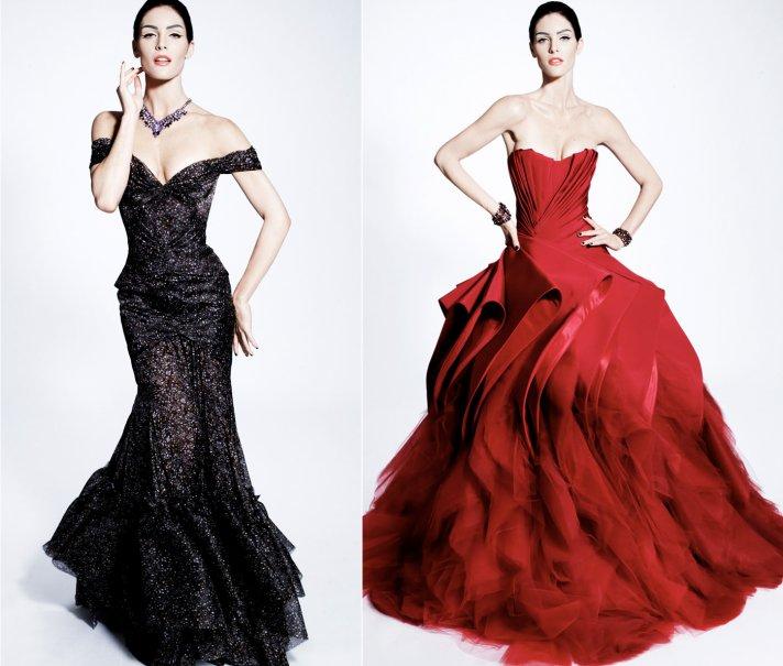 zac posen wedding dress inspiration vintage glam