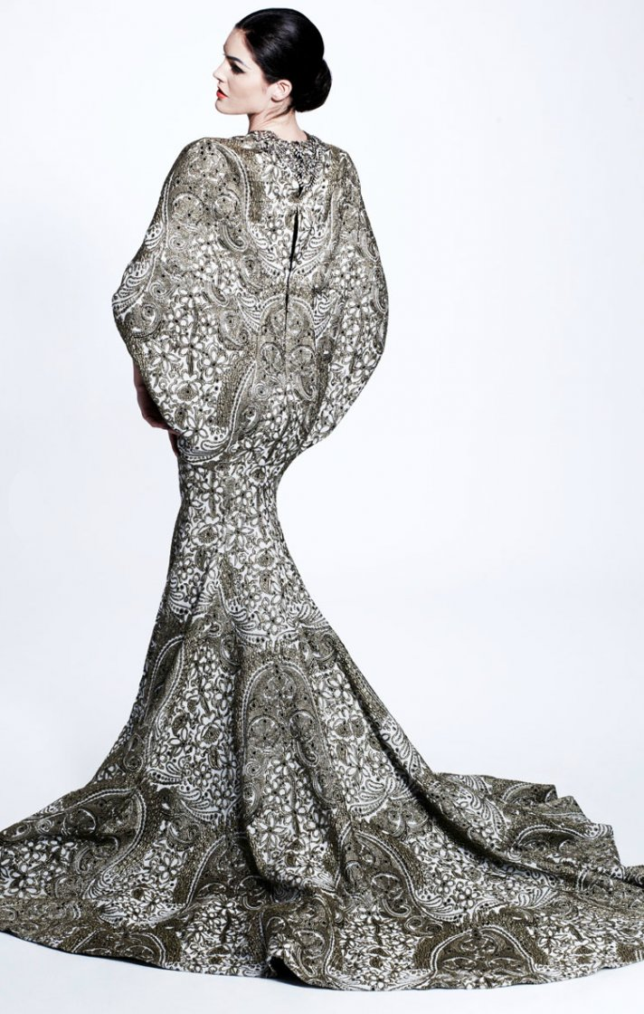 zac posen mermaid wedding dress ideas