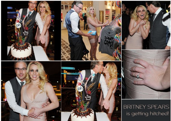 Britney Spears is engaged! Hope third time's the charm for the pop star