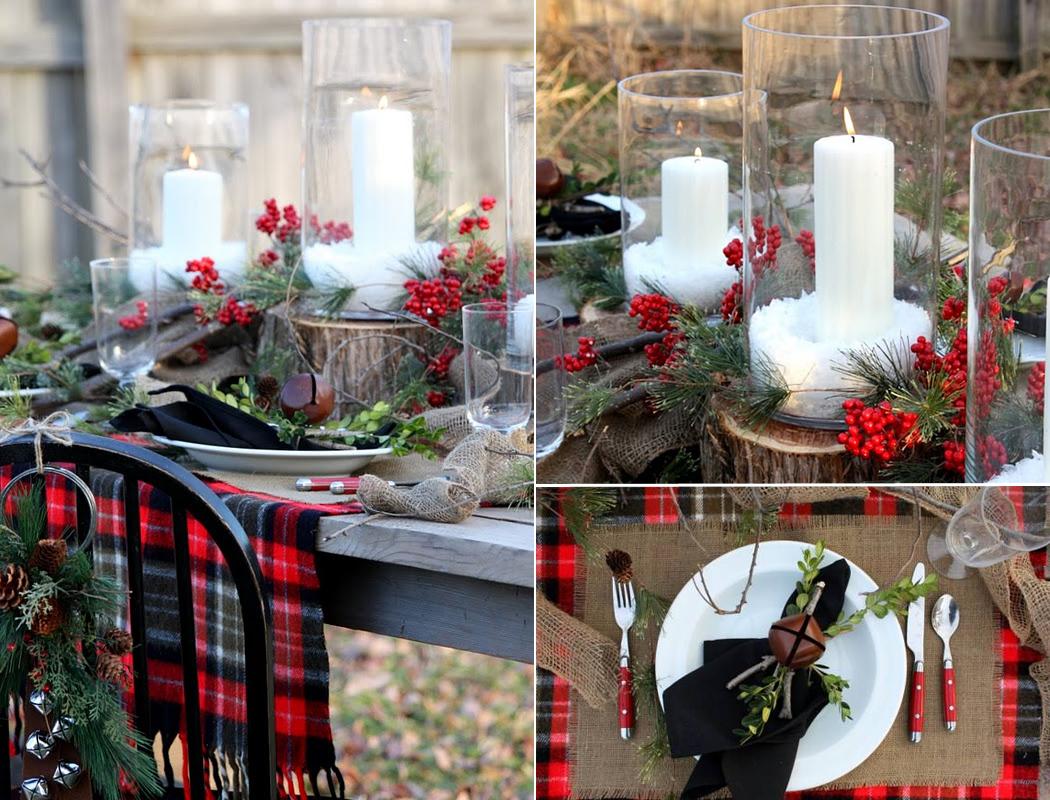 Outdoor Wedding Ideas Red Berries Christmas Outdoor