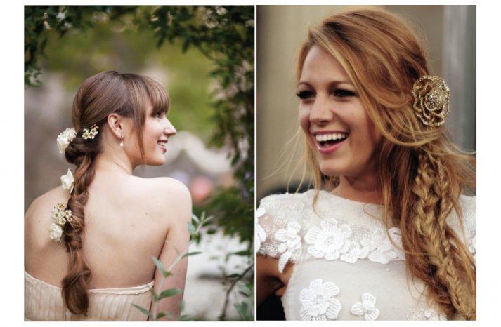 celeb inspired wedding hair