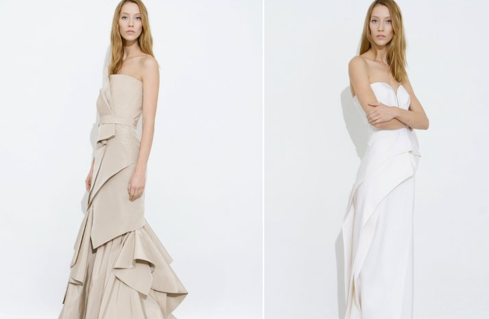 j mendel wedding dress inspiration bridesmaids dresses 2012