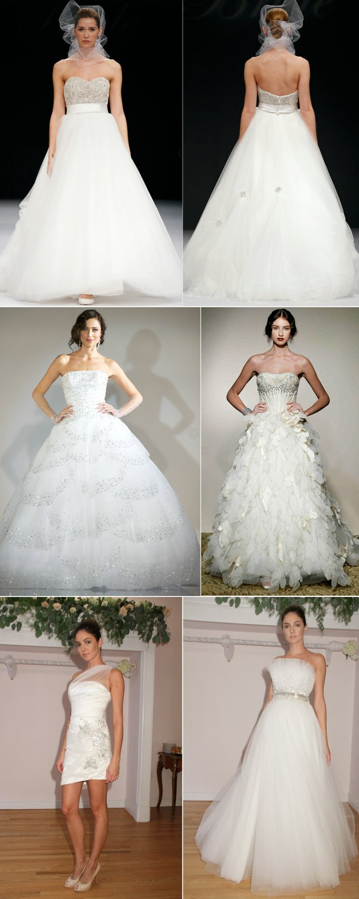 bejewled wedding dresses 2012 bridal gown beaded