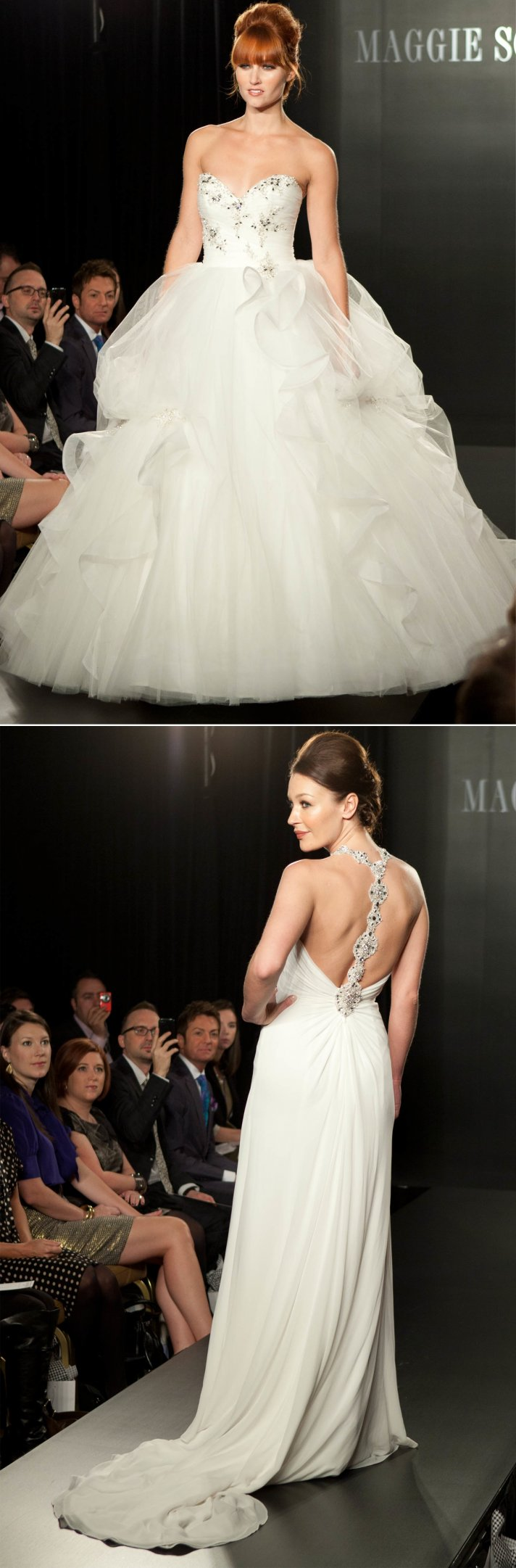 maggie sottero wedding dress beaded 2012 bridal gowns