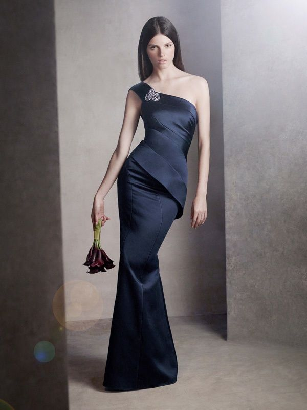 Get Chic Bridesmaids With White By Vera Wang