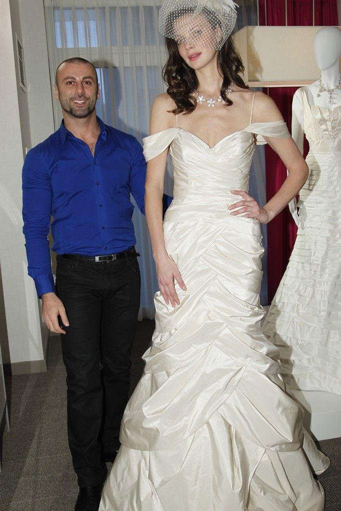 bebe wedding dress off the shoulder mermaid
