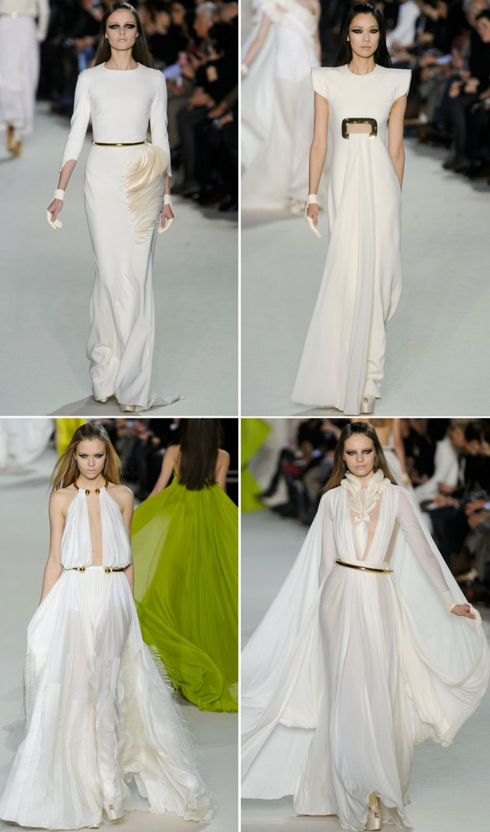 stephane rolland wedding dress inspiration spring 2012 couture
