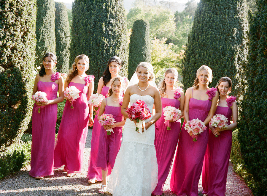 Bridesmaid Dresses – the search for the pink dress
