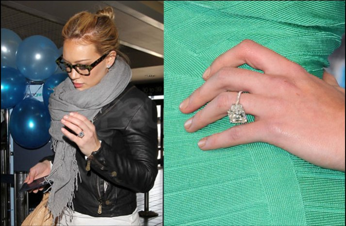 hilary duff engagement ring