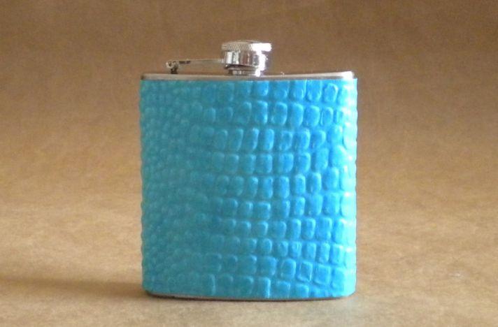 turquoise flask wedding gifts