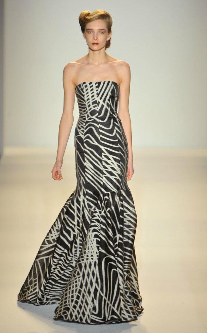 2012 wedding dress inspiration by Zac Posen