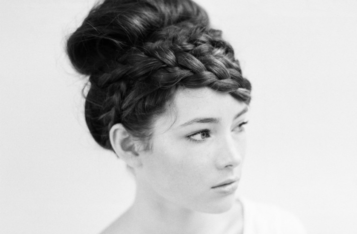 romantic wedding hairstyles braided updo Credit Hair and makeup by Megan