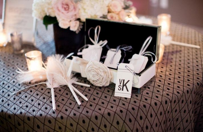 unique wedding guest book idea wishing tree table