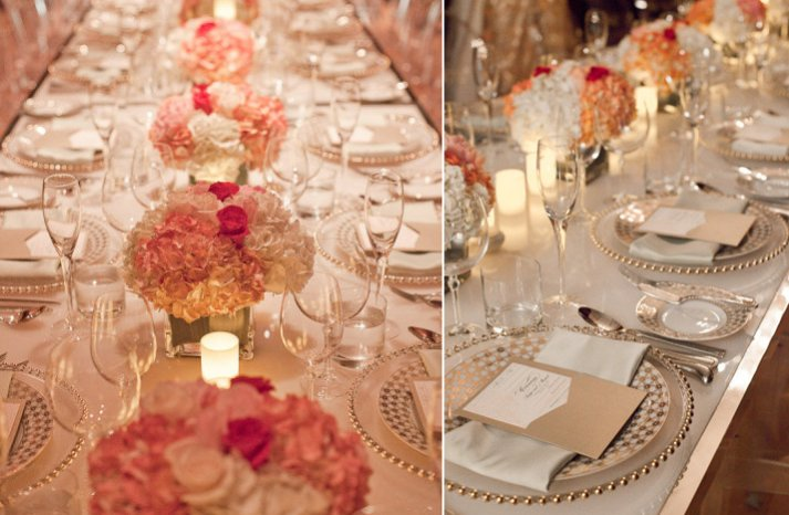 stunning wedding reception tablescapes romantic pinks